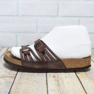 Birkenstock Granada Soft Footbed Slide Size 6